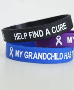 My Grandchild Has Type 1 Diabetes Wristband