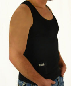 Mens T1D Insulin Pump TechTank SIDE