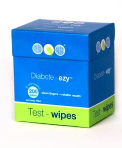 Test Wipes for Diabetes