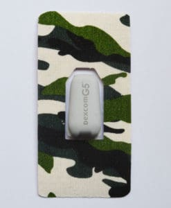 CGM Transmitter Patches Dexcom Camo