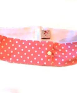 Pink Dot Insulin Pump Slim Waist Band
