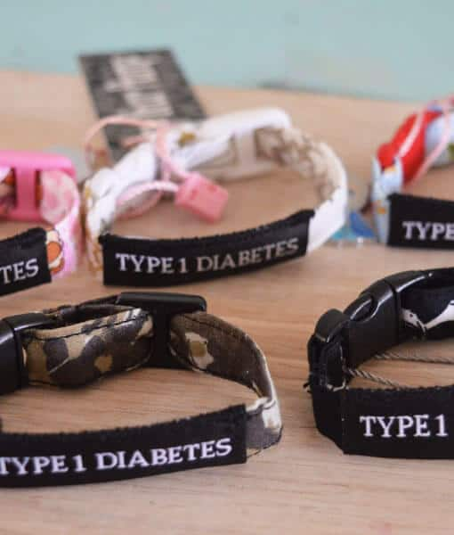 Kids Diabetes Medical Alert Bracelets