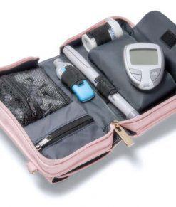 Myabetic Marie Diabetes Mini Crossbody Blush