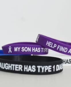 My Son Has Type 1 Diabetes Wristband