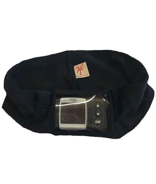Insulin Pump Band with Window black