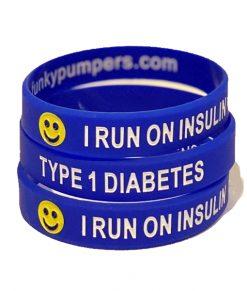 Blue I run on Insulin