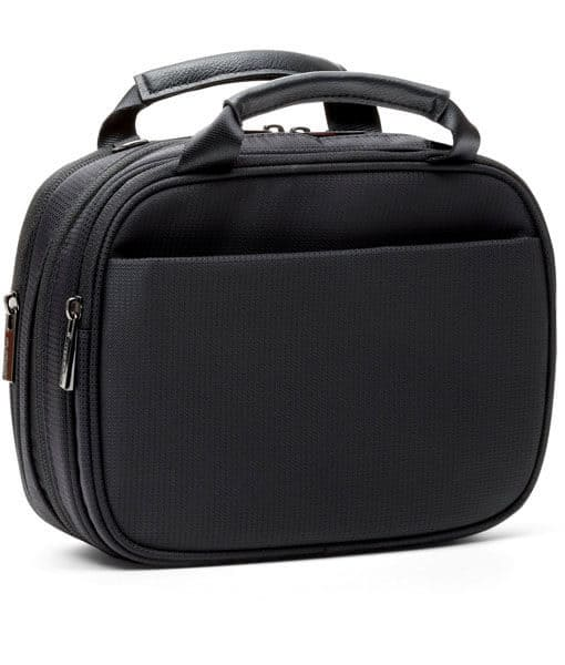 Thompson_Diabetes_CarryAll_BlackNylon_FrontAngle
