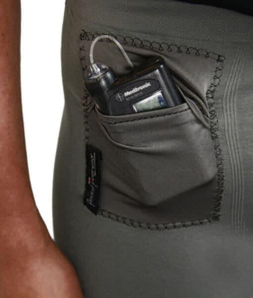 Mens T1D Insulin Pump Briefs Close Up