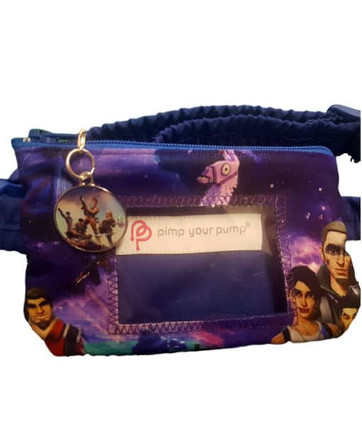 Insulin Pump Pouch Fortnite with Vinyl Screen