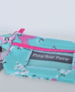 Insulin Pump Pouch Butterfly Lace 5
