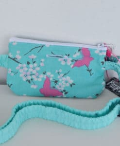Insulin Pump Pouch Butterfly Lace 3