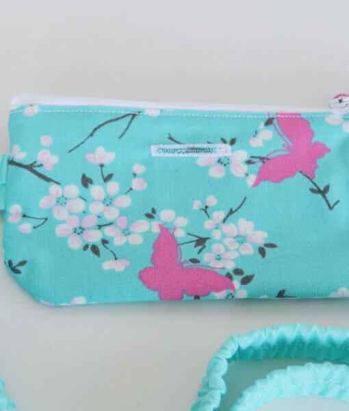 Insulin Pump Pouch Butterfly Lace 4