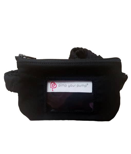 Insulin Pump Pouch School Uniform Black