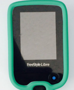 Freestyle libre case green