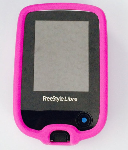 Freestyle libre case pink