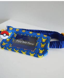 Insulin Pump Pouch Pikachu 2