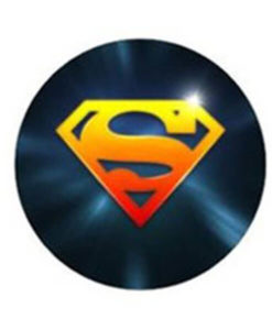 freestyle libre device stickers superman