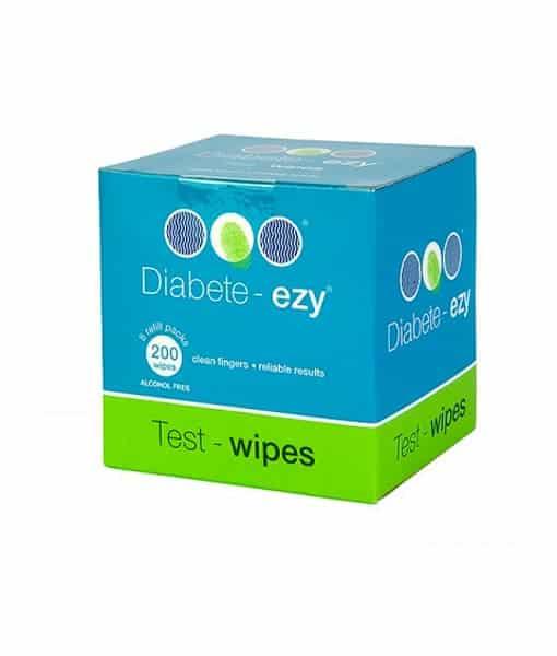 Diabete ezy Test Wipes Refill