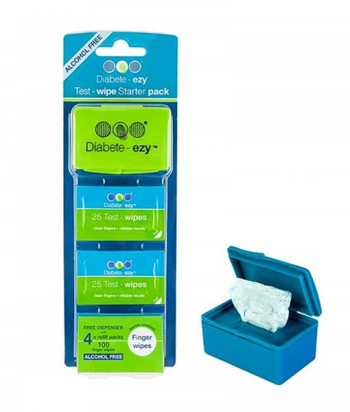Test Wipes Starter Pack by Diabete-ezy