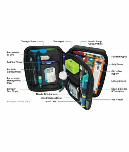 Diabete-Ezy Multi-fit Case