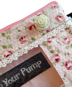 Insulin Pump Pouch Ditsy Rose