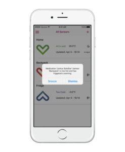 MedAngel One 2 iOS Alert Dialog White iPhone