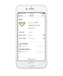 MedAngel One 3 iOS Detail Screen White