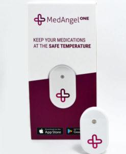 MedAngel One Sensor and box