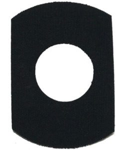 Rockadex Libre CGM Transmitter Patches Black