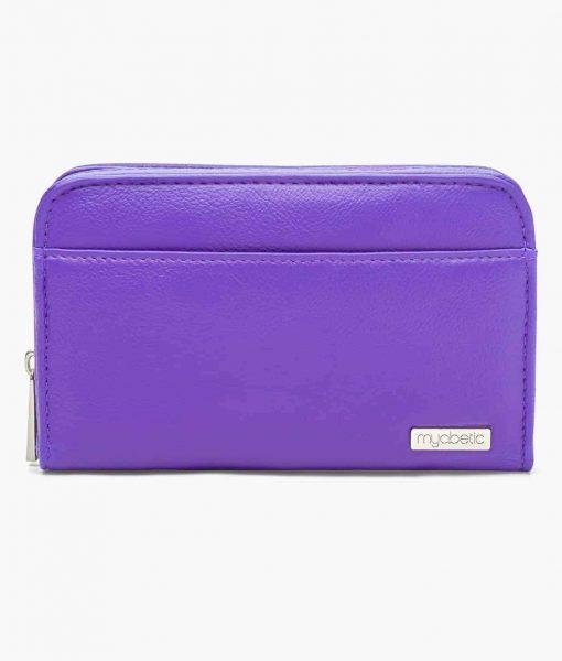 Myabetic Banting Diabetes Wallet Purple