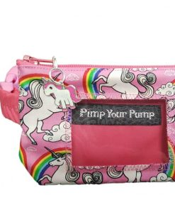 Insulin Pump Pouch Unicorn Close Up
