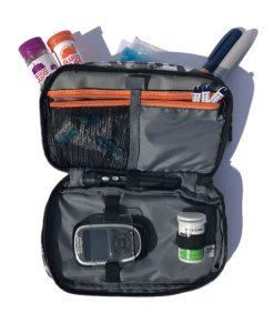 ETC Diabetic Kitbag Action Camo Open