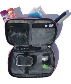 ETC Diabetic Kitbag Pink Gloss Inside