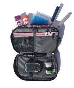ETC Diabetic Kitbag Pink Camo Inside