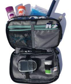 ETC Diabetic Kitbag Shark Camo Inside