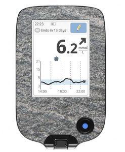 Freestyle Libre Handheld Sticker Granite