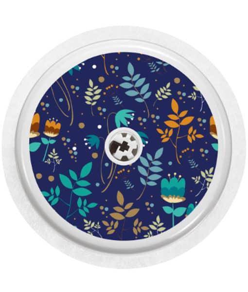 Libre Sensor Cobalt Floral