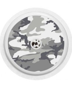 Freestyle Libre Sensor Cover Snow Camo