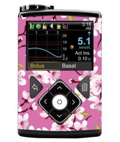 Medtronic 640G Sticker Cherry Blossom