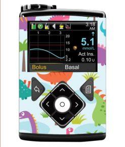 Medtronic 640G Sticker Dinosaur