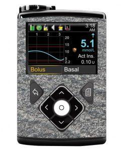 Medtronic 640G Sticker Granite