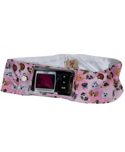 Insulin Pump Glitter Dogs Band