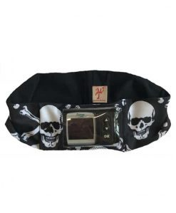 Insulin Pump Skull Band