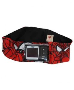 Insulin Pump Spiderman Band