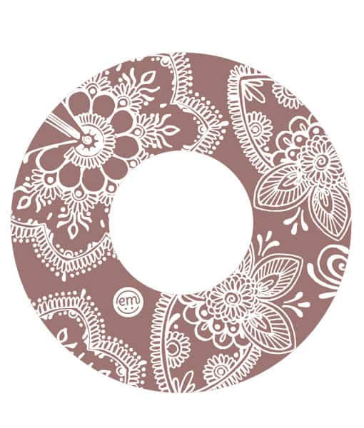 ExpressionMed Henna Freestyle Libre Tape - 5 Pack