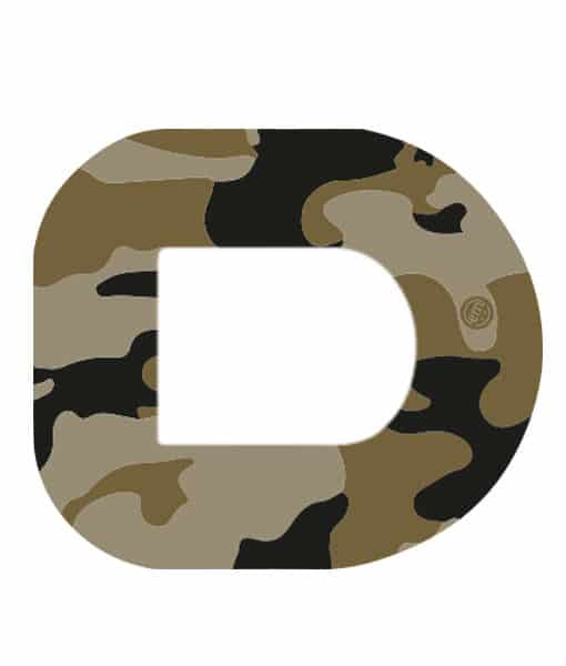 ExpressionMed Camo Omnipod Tape - 5 Pack