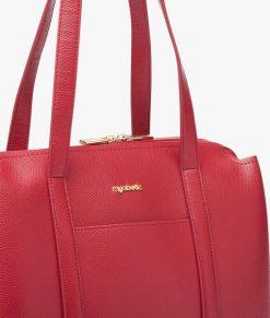 Myabetic Amy Diabetes Handbag Red Close Up