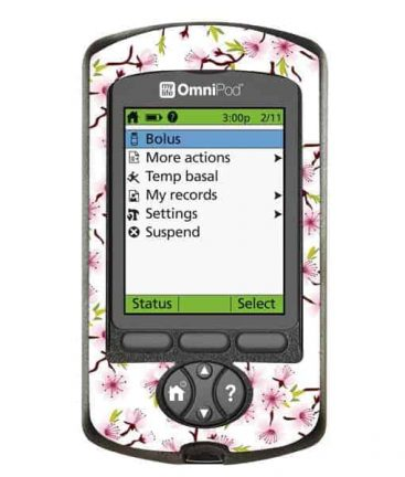 Omnipod PDM Cherry Blossom