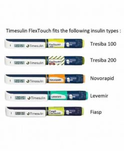 Timesulin FlexTouch Range 2