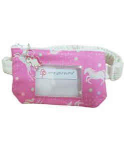 Insulin Pump Pouch Glitter Unicorn